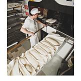 Baking, Loaf, Wood oven