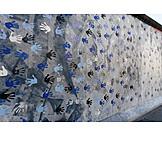 Berlin wall, Hand print, East side gallery
