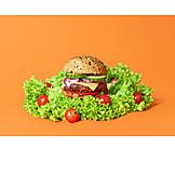 Fast food, Hamburger, Cheeseburger