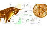 Winning, Dax, Stock market data, Value, Bitcoin