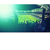 Soccer, Socce stadium, Bleachers