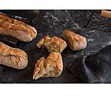 Baguette, Crispy, Crust