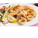 Seafood, Fried