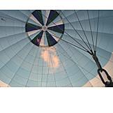 Hot air balloon, Balloon shell, Cheering
