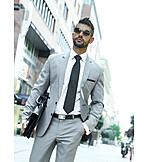 Businessman, Sunglasses, Urban